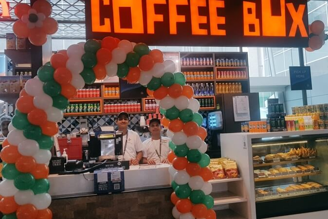 Chennai airport Coffee Box, Chennai international airport news, Chennai airport restaurants cafes