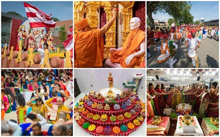 BAP Swaminarayan Mandir Edison NJ, USA BAPS Swaminarayan temples, Hindu temples USA