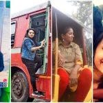 Indian women power, Haimanti Sen Junoon, Chennai Auto Akka, Mandeep Kaur Dhaliwal truck, Pratiksha Das bus driver