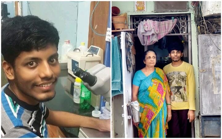 This Indian Boy from Mumbai Slum is Research Scientist in USA; Thanks to His Single Mother for Her Grit