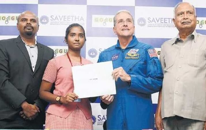 Tea Seller's Daughter from India Wins Opportunity to Visit NASA's Kennedy Space Center in Florida