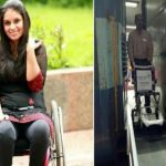 Virali Modi, disability rights activist, Delhi IGI airport news, US to India travel
