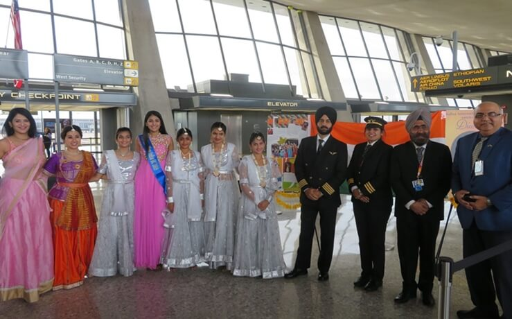 Washington Dulles Airport Diwali, Diwali in USA, Air India flights from DC