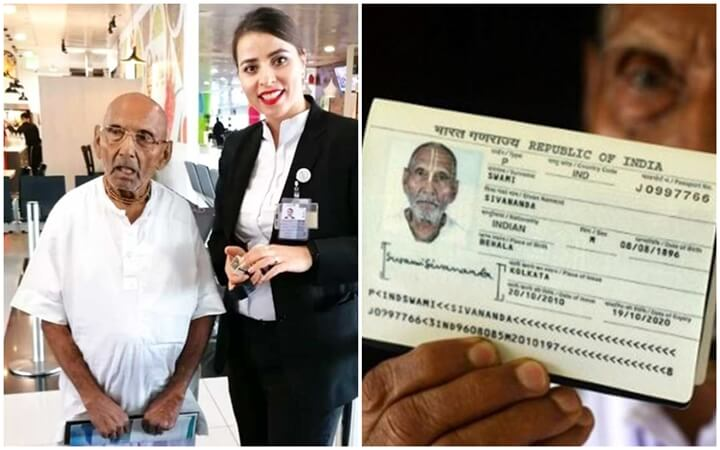 123-year-old Indian Flies Unaccompanied to International Destinations. Internet Speculates How