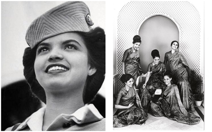 Air India hostesses, Air India women crew lifestyle, Air India in old days