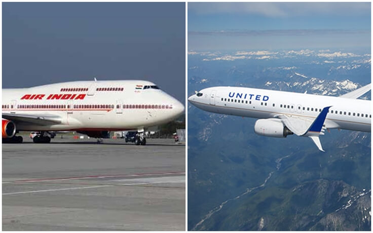 Air India vs United Airlines: Direct Flights from USA to India – Baggage, Fares, Services, Upgrade