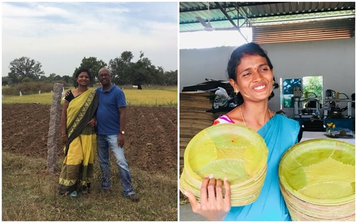 This Couple Quits Jobs in USA and Returns Home to Do Organic Farming and Reduce Plastic in India
