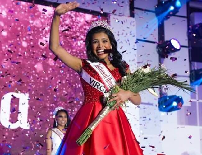Indian American Anjali Nair Wins National American Miss Junior Teen 2019-2020 Title
