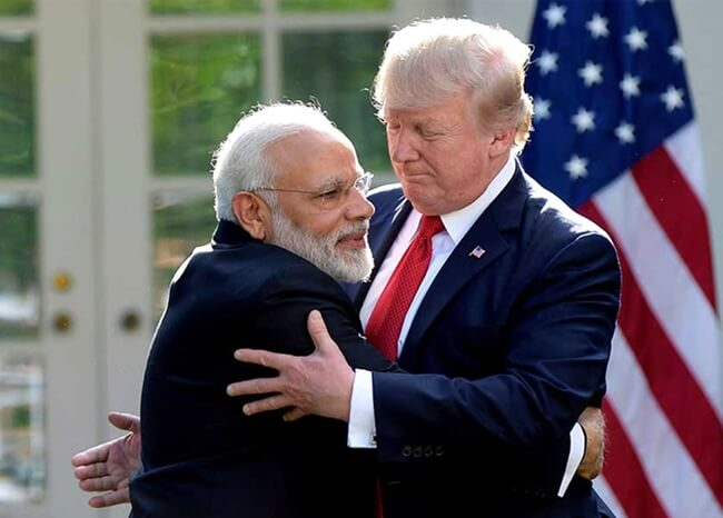 President Trump is Set to Visit India This Month for a Boost to US-India Strategic and Defence Partnership