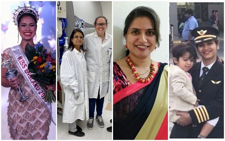 India fights COVID19, Miss England 2019, Dr Nita Patel Maryland, AI pilot Swati Raval