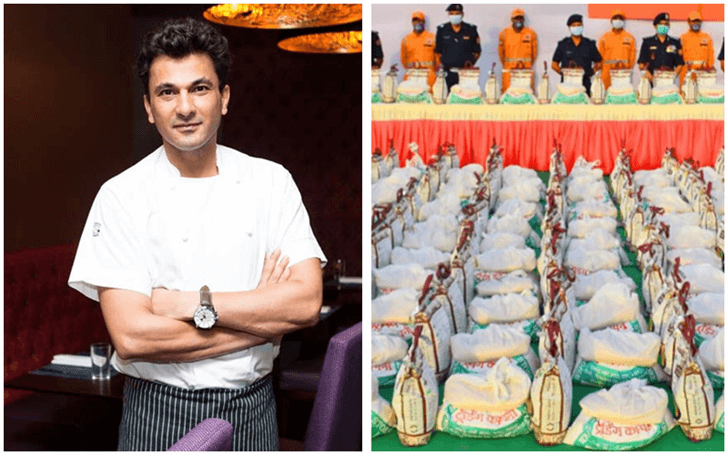 Indian-origin Chef Vikas Khanna Donates Dry Ration for 3 Million Meals to Victims of COVID19 in India