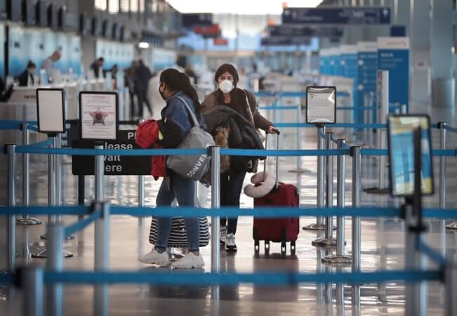 COVID19 TSA screening rules, US airports coronavirus screening, flyers' thermal check US airports