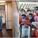 vande bharat mission, Air India COVID19 precautions, Repatriation flights to India, Evacuation flights to India
