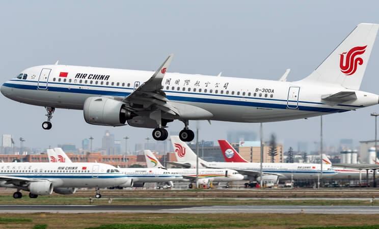 Air China flights, USA bans China airlines, US-China flights, US-China aviation news
