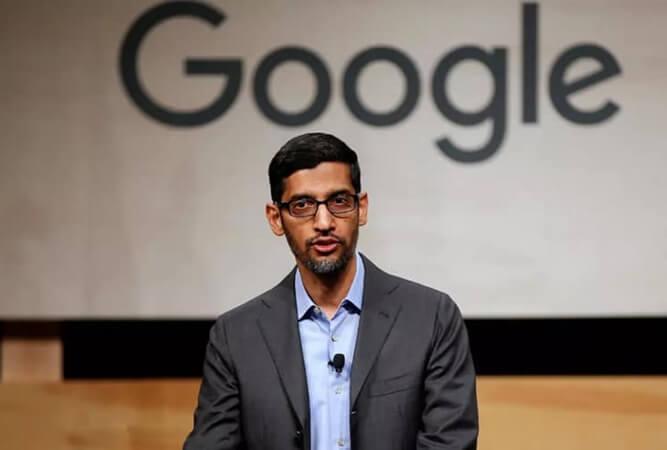 Alphabet Inc. CEO Sundar Pichai Announces Google will Invest $10 Billion in India This Pandemic