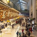 Delhi Airport institutional quarantine, VBM flights to New Delhi, United flights to New Delhi