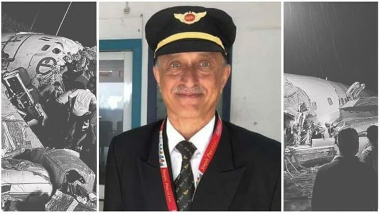 172 People Survived Air India Crash in Kerala because of Captain Deepak Sathe's Quick Action Just before Crash