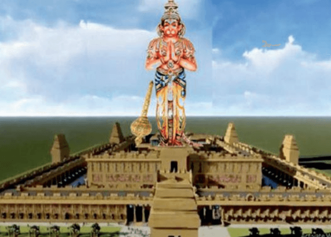 Karnataka to Build Several Statues Including World's Tallest Hanuman Statue for Rs 1200 Crore