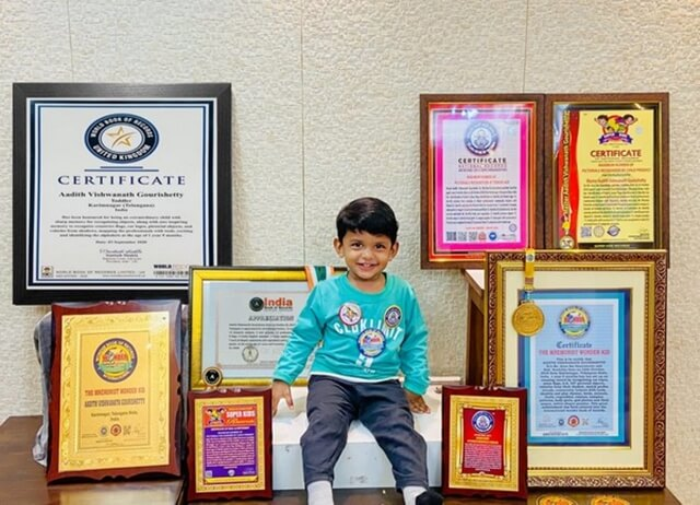 This 21-month-old is an Indian Prodigy of Global Fame. He Makes it to World Book of Records