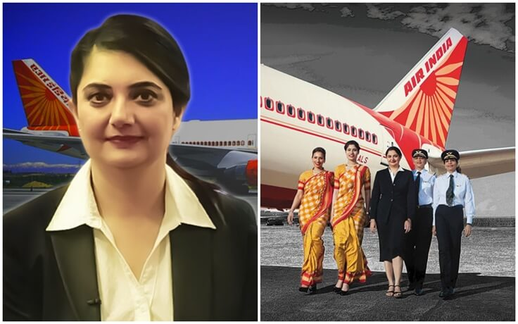 Harpreet A De Singh: Air India's First Woman Pilot is Now First Woman CEO in Indian Aviation