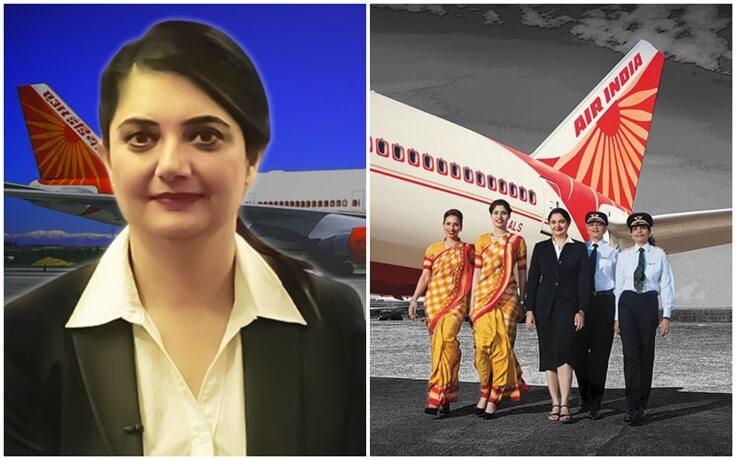 Harpreet A De Singh, Alliance Air Woman CEO, Air India first woman pilot