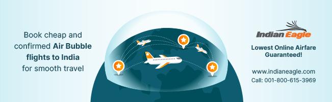 cheap Qatar Airways flights to India, US-India air bubble flights, Qatar flight tickets Indian Eagle