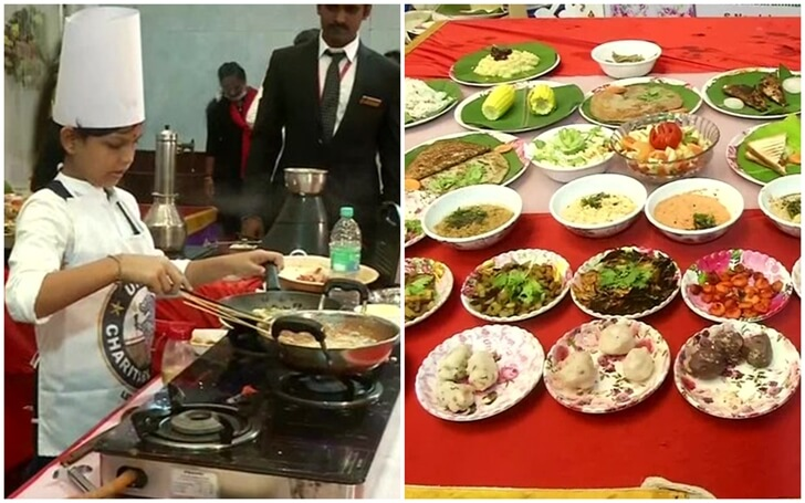This Indian Teen Creates History by Cooking 46 Dishes in One Hour While We Take 10 Minutes to Cook Noodles
