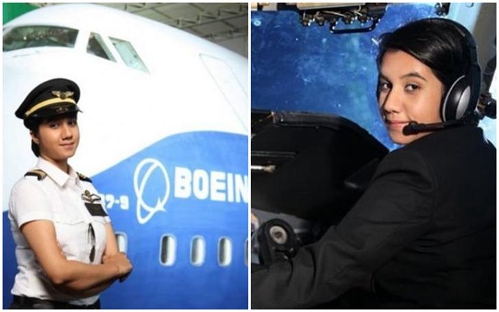 Ayesha Aziz pilot, India's young female pilot, Air India female pilots