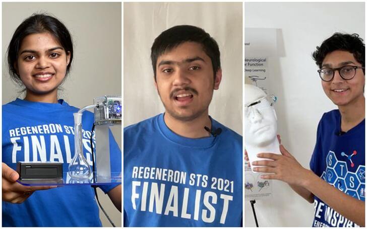 Indian American community news, Regeneron Science Talent Search 2021 winners, Eshani Jha Biochar, Alay Shah Portland