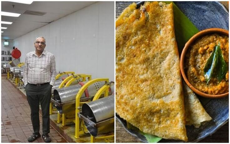 Meet the King of Dosa, who Makes it Possible for Indian Families to Cook and Grab Quick Breakfast in USA
