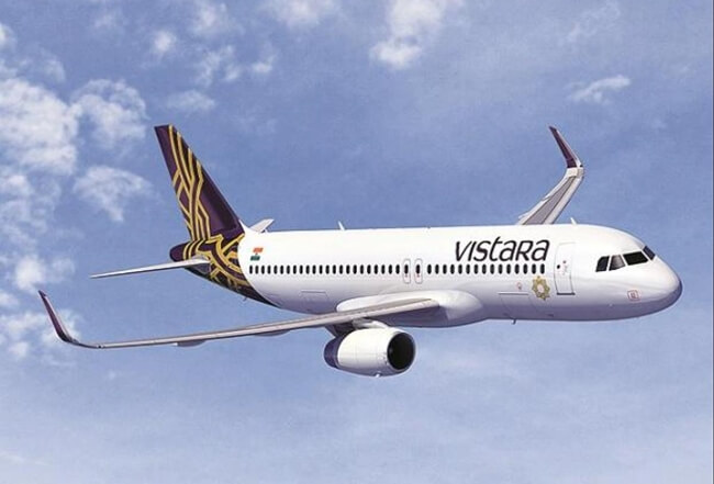Air Vistara Files with US Department of Transportation for Permit to Fly Nonstop between USA and India