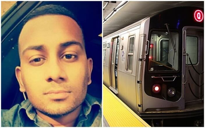 This Indian-origin Subway Operator in New York Saves a Man Pushed onto Tracks in Apparent Hate Crime