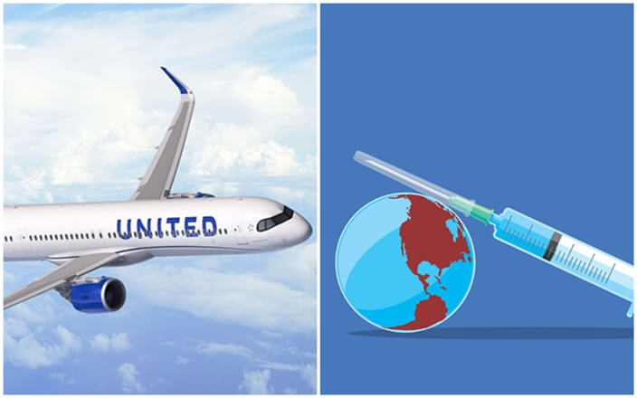 United is Giving Away a Year of Free Flights to Vaccinated Travelers. You can Win Free Round Trips to India