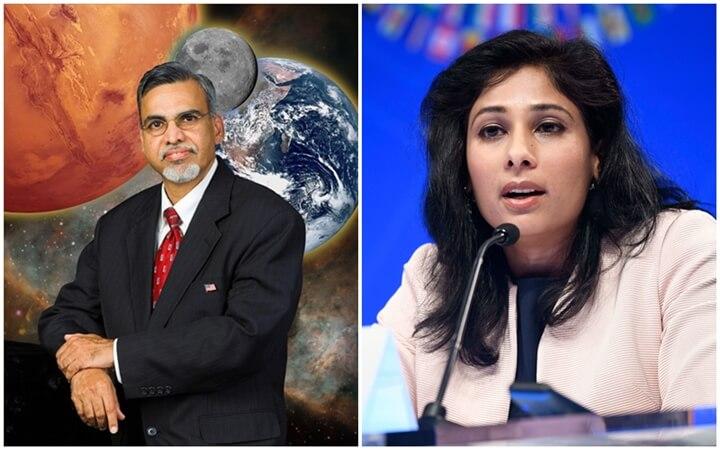 NASA Scientist Kamlesh Lulla and IMF Chief Economist Gita Gopinath are Named Great Immigrants of America 2021
