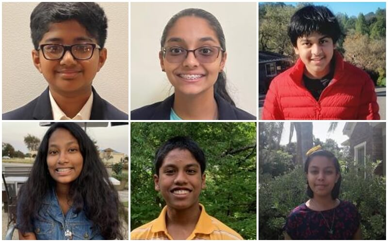 7 Indian American Teens among Ten Finalists for America's Top Young Scientist Title 2021
