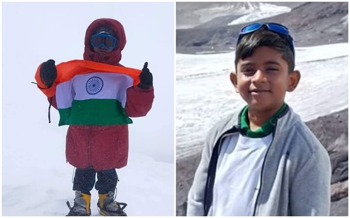 8-year-old Indian Boy Becomes World's Youngest Person to Conquer Europe's Highest Peak Mt Elbrus